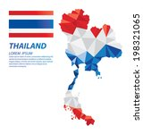 thailand geometric concept... | Shutterstock .eps vector #198321065