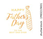 happy father's day appreciation ...   Shutterstock .eps vector #1983215831
