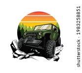 off road car illustration for... | Shutterstock .eps vector #1983258851