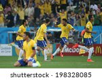 ������, ������: Neymar 10 of Brazil
