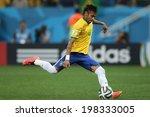������, ������: Neymar of Brazil takes