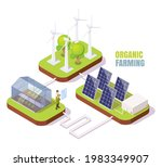 organic farming. greenhouse ...   Shutterstock .eps vector #1983349907