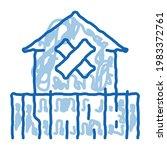 enclosed non residential...   Shutterstock .eps vector #1983372761