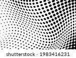 the halftone texture is... | Shutterstock .eps vector #1983416231