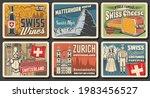 switzerland travel landmark...   Shutterstock .eps vector #1983456527