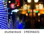 hong kong stock market price... | Shutterstock . vector #198346631