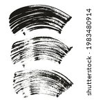 flat fan brush thick curved... | Shutterstock .eps vector #1983480914