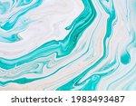 fluid art texture. abstract... | Shutterstock . vector #1983493487