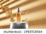 Cosmetic Glass Bottle Spray...