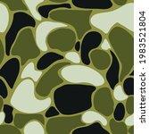 seamless vector green...   Shutterstock .eps vector #1983521804
