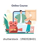 movie director online service... | Shutterstock .eps vector #1983528431