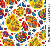 seamless vector pattern with... | Shutterstock .eps vector #1983539834
