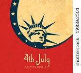 vintage poster  banner or flyer ... | Shutterstock .eps vector #198362501