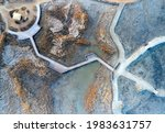 Aerial And Top Angle View Of...