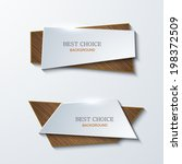 vector moder banners element... | Shutterstock .eps vector #198372509