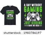 a day without video games is...   Shutterstock .eps vector #1983786197