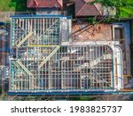 Construction Of Brick House In...