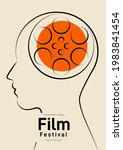 movie and film poster design...   Shutterstock .eps vector #1983841454