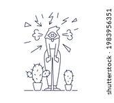 stress  mental disorders  acute ... | Shutterstock .eps vector #1983956351