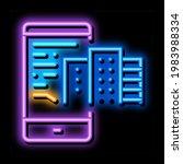 telephone mode of reality neon...   Shutterstock .eps vector #1983988334