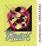 typographic slogan print design ... | Shutterstock .eps vector #1984132061