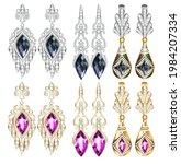 illustration set of jewelry...   Shutterstock .eps vector #1984207334