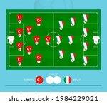 football match turkey versus...   Shutterstock .eps vector #1984229021