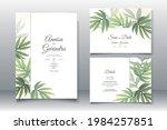 wedding invitation card...   Shutterstock .eps vector #1984257851