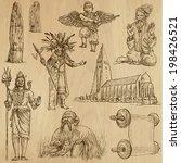 religious around the world ... | Shutterstock .eps vector #198426521