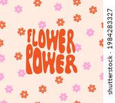 flower background with phrase... | Shutterstock .eps vector #1984283327