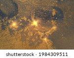 dark blue and bronze abstract...   Shutterstock .eps vector #1984309511