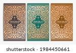 luxury packaging design of... | Shutterstock .eps vector #1984450661