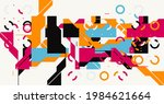 Geometric Abstract Vector...