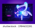 technology cartoon web banner ... | Shutterstock .eps vector #1984632281