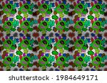 raster abstract pattern page... | Shutterstock . vector #1984649171