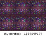 blue  purple and green raster... | Shutterstock . vector #1984649174