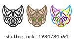 collection silhouettes of cat...   Shutterstock .eps vector #1984784564