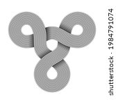 Triquetra Knot Sign Made Of...