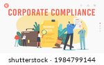 tiny characters read corporate... | Shutterstock .eps vector #1984799144