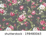 rose fabric background ... | Shutterstock . vector #198480065