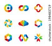 color capture imagination... | Shutterstock .eps vector #198483719