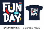fun all day typography vector... | Shutterstock .eps vector #1984877537