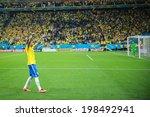 ������, ������: Neymar of Brazil celebrates
