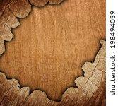 cracked wood background  | Shutterstock . vector #198494039