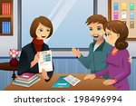 a vector illustration of... | Shutterstock .eps vector #198496994