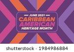 caribbean american heritage...   Shutterstock .eps vector #1984986884