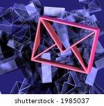 envelope mail sign | Shutterstock . vector #1985037