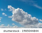 blue sky and clouds with copy...   Shutterstock . vector #1985044844