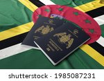 Dominica Passport With The...