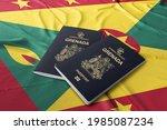 Grenada Passport With Grenada...